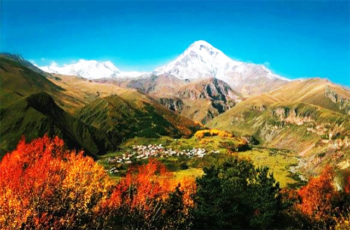 20 belas fotos da natureza, gastronomia e cultura da Georgia, o país onde o vinho nasceu